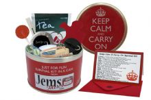 Keep Calm & Carry On Survival Kit In A Can
